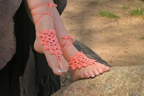 Adorna tus pies descalzos - Paperblog