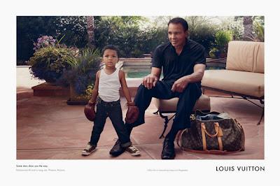 Muhammad Ali imagen para Louis Vuitton