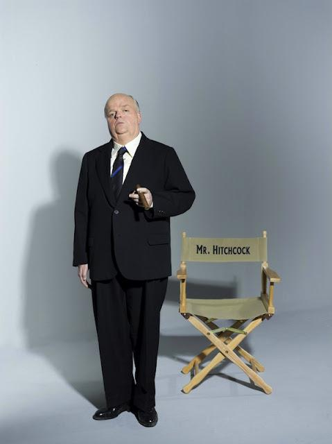 Nuevas Imágenes de Toby Jones como Hitchcock
