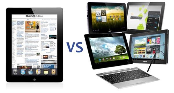 ipad vs android Las Mejores Tablets