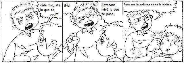 Historietas sobre el bullying - Imagui