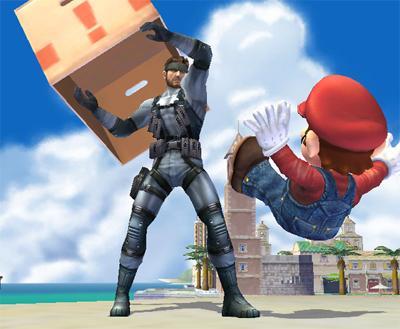 smash bros solid snake codec mundo nintendero El mundo nintendero a ojos de Solid Snake