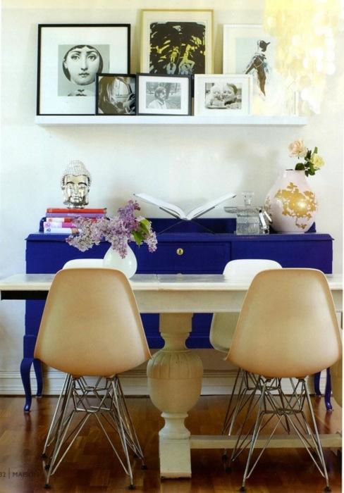 visión para los muebles heredados de la abuela color bien aplicado en