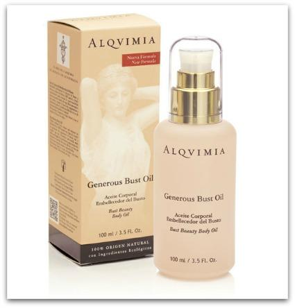 Generous & firming bust oil by Alqvimia