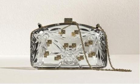 clutch de Valentino transparente