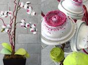 Love: Arte floral botes spray reciclados