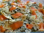 Lazos salmón ahumado, ricotta parmesano Tortilla calabacin atún
