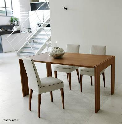 Mesa de madera plegable es espejo de pared paperblog - Mesa plegable diseno ...