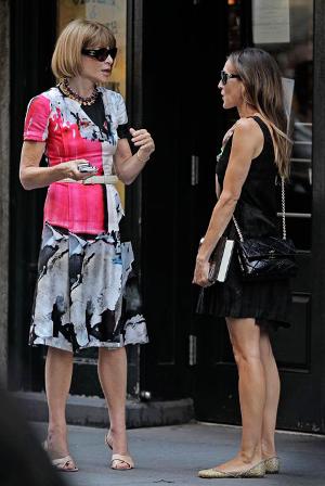 Sarah Jessica Parker y Anna Wintour juntas en