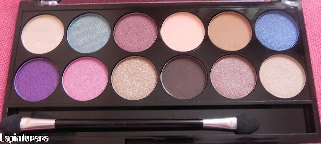 Review paleta mua: Glamour days