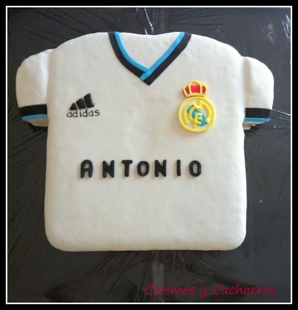 Tarta Camiseta Real Madrid 2012 2013