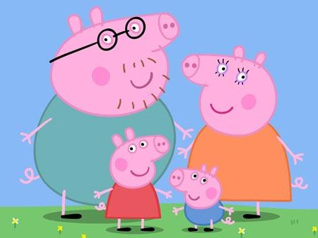 personajes peppa pig LOS PERSONAJES DE PEPPA PIG.