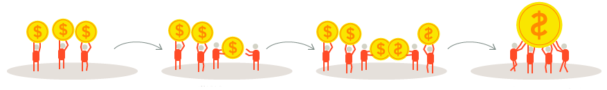 crowdfunding: financiación colectiva negocios