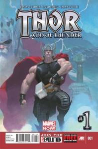 Es oficial: Jason Aaron y Esad Ribic para el Thor de Marvel NOW!. Portada del Nº 1