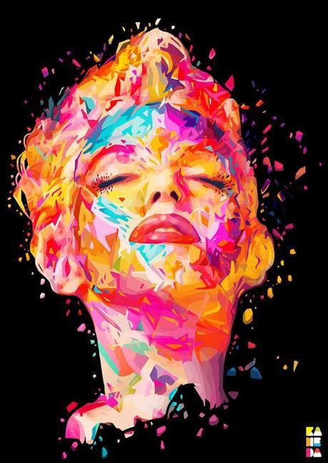 retratos pop art