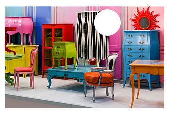 Los colores de los muebles y la decoracion del hogar for Decoracion del hogar muebles
