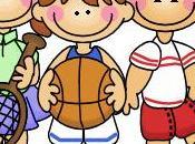 Deporte infantil. superación como juego niños