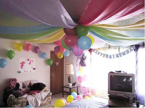 Como decorar con telas para fiestas imagui - Como decorar techos ...