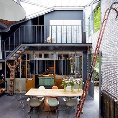 detalles del estilo r stico industrial paperblog. Black Bedroom Furniture Sets. Home Design Ideas