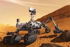 Curiosidad en Marte