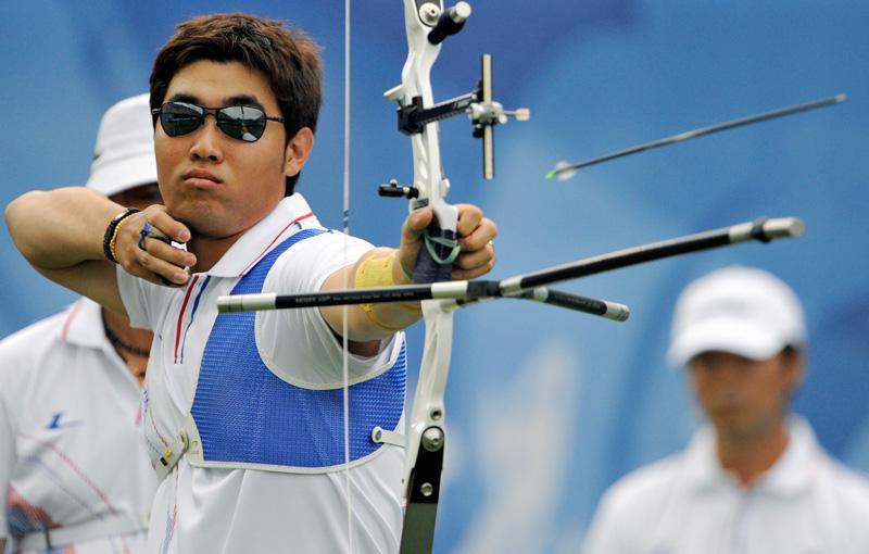 J.J.O.O. Londres 2012: Primer récord mundial de un arquero con baja visión!!