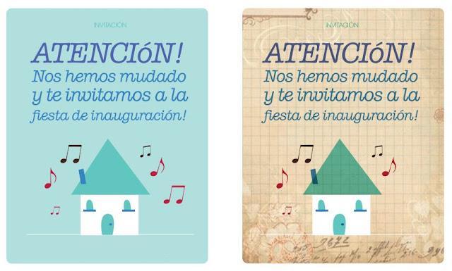 Imprimibles by srta edwina 5 invitaciones para fiestas molonas paperblog - Ideas fiesta inauguracion piso ...