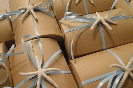cajitas de regalo para fiesta de cumpleaños con estrella