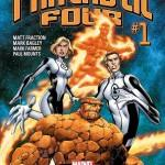 Fantastic Four Nº 1 Matt Fraction Mark Bagley Marvel NOW!