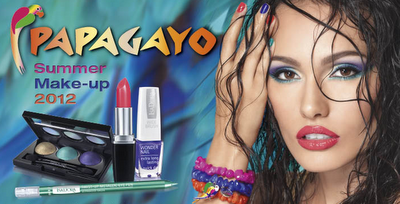 Colección Summer Make-Up Papagayo de IsaDora