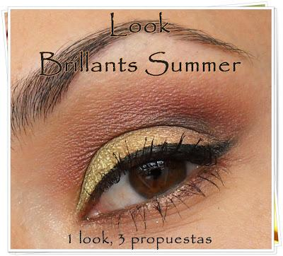 Vídeo-Tutorial Brillants SUmmer, 1 look, 3 Opciones.