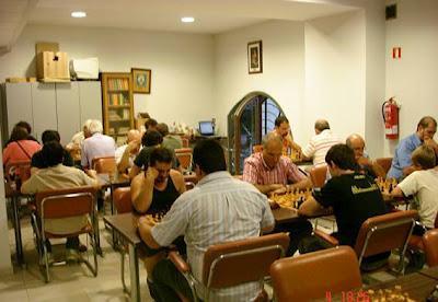 Club Ajedrez Vic, Torneo Abierto de Ajedrez – Vic 2006, sala de juego