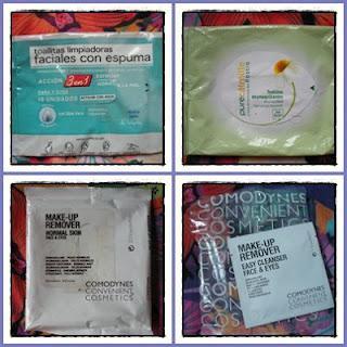 DESCANSEN EN PAZ- Potingues acabados V (desmaquillantes, toalitas y algodones)