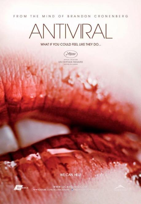 Imágenes y posters de Antiviral, Paranormal Activity, Neuromancer y más