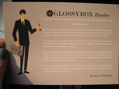 Glossybox Hombre