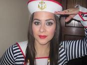 Maquillaje: Disfraz marinera para Carnaval