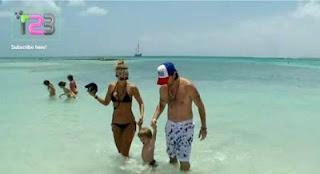Noticia -  Juanes vacaciona en Aruba con su familia