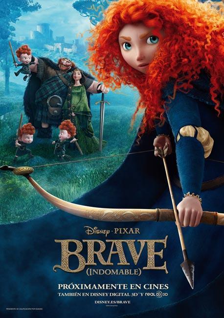 Vamos al cine: Brave (Indomable)