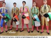 Novillada mixta caballos villanueva córdoba: jimenez alcalde salen hombros