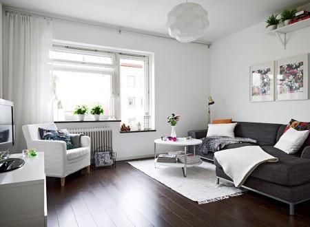 47 5 m de decoraci n n rdica fresca y sencilla paperblog for Decoracion piso blanco