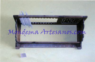 Platero de madera