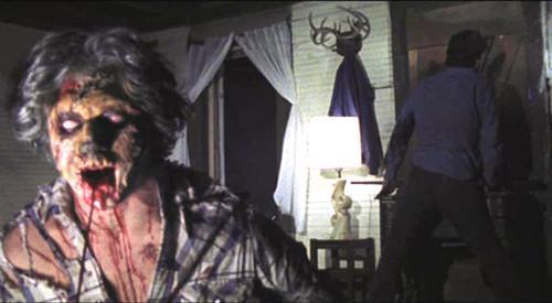 Gran cine de terror evil dead repulsivamente divertida for La cabana divertida