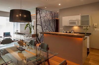 Apartamentos pequenos y minimalistas paperblog for Disenos de departamentos minimalistas