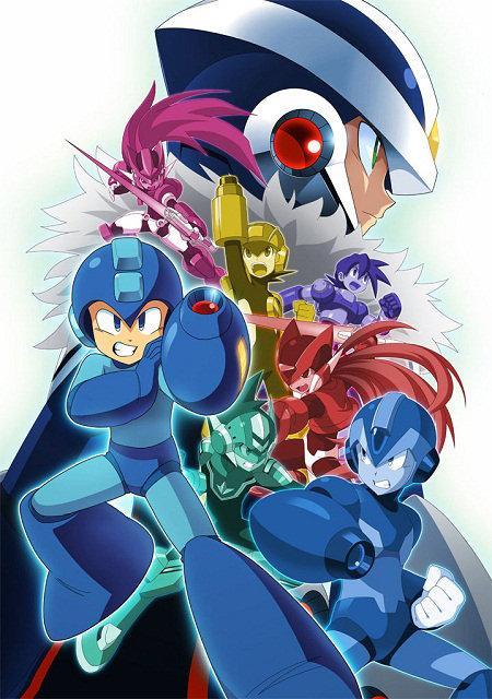 mega man xover crossover rockman xover Capcom celebra el 25º aniversario de Mega Man con un social RPG  para sistemas iOS