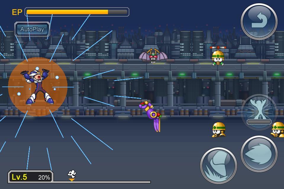 mega man xover crossover rockman xover 01 Capcom celebra el 25º aniversario de Mega Man con un social RPG  para sistemas iOS