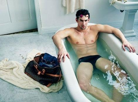 Michael Phelps ficha por Louis Vuitton Values