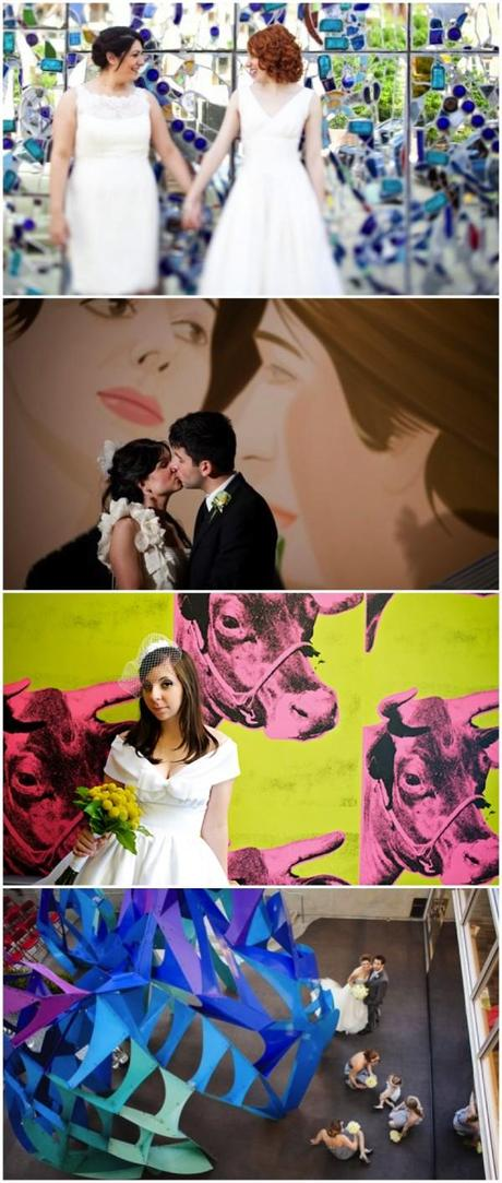 Weddings in a museum