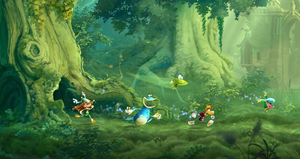 rayman legends wiiu 02 1024x542 Rayman Legends, amor a primera vista