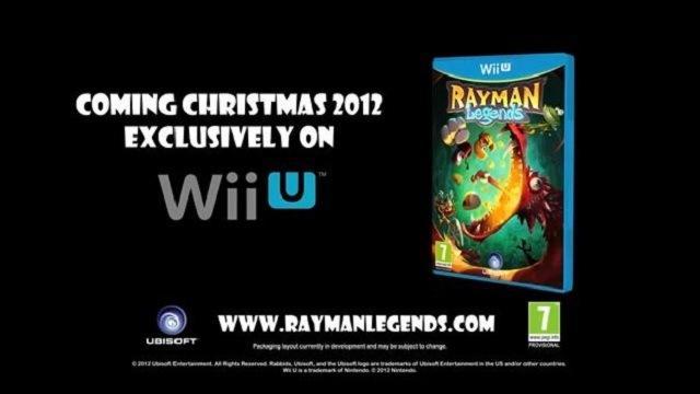 rayman legends wiiu Rayman Legends, amor a primera vista