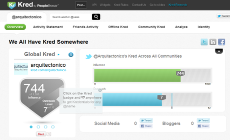 Discover Architects community leaders and engage with them – Kred | We all have Kred somewhere