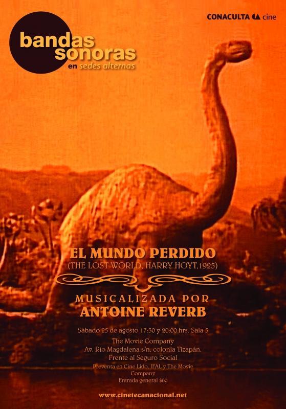Antoine Reverb musicaliza el Mundo Perdido